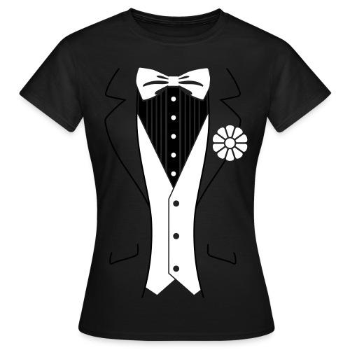 Tuxedo - damer - Dame-T-shirt