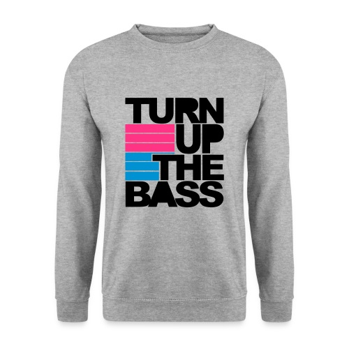Turn up the Bass - Herre sweater