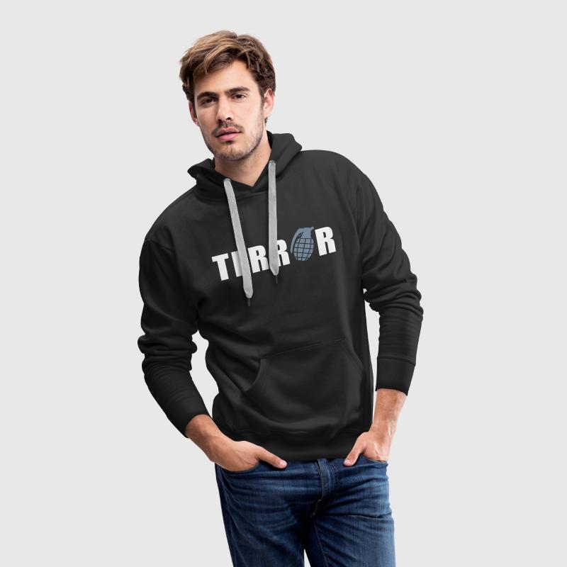 terror Sweat-shirts - Sweat-shirt à capuche Premium pour hommes