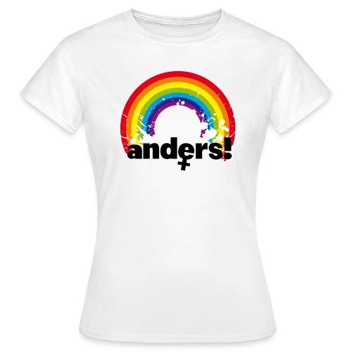 Anders Girlie Shirt - Frauen T-Shirt