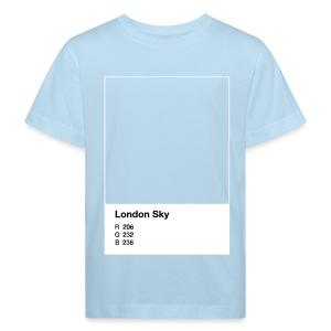 London Sky, light blue, kid - Kinder Bio-T-Shirt