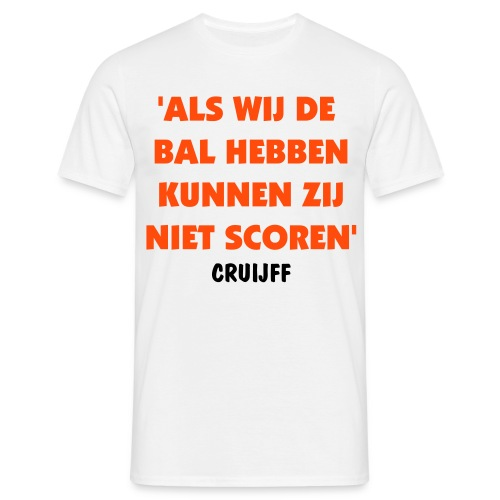 Cruijff - Mannen T-shirt