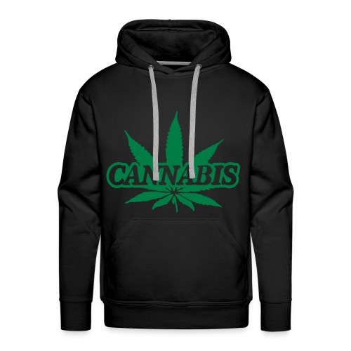 Pull a capuche Cannabis  - Sweat-shirt à capuche Premium pour hommes