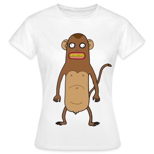 Affentittenlicious Classic Girl - Frauen T-Shirt