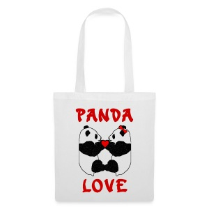 Panda Love Tote Bag - Tote Bag