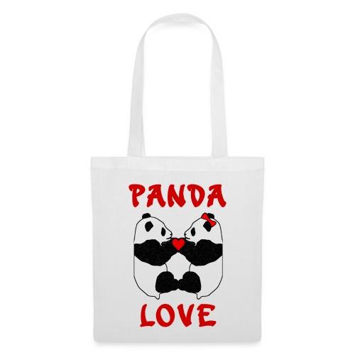 Panda Love Tote Bag - Tote Bag