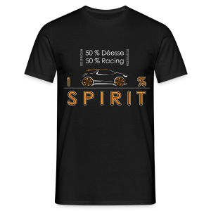 Tee shirt classique 100% SPIRIT Orange par xTOTO62x - T-shirt Homme