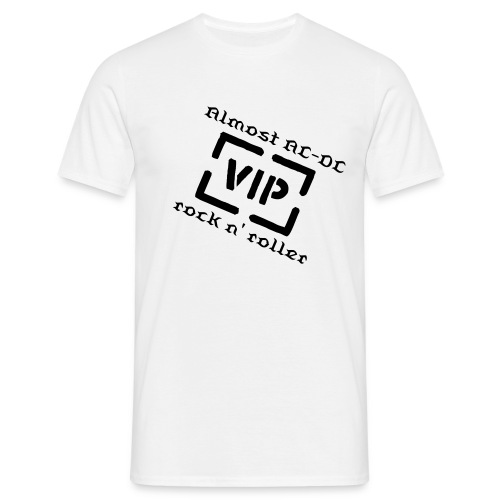 Almost AC-DC VIP t-shirt - Herre-T-shirt