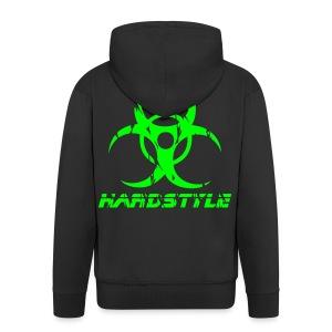 Hardstyle Biohazard - Neongrön - Premium-Luvjacka herr