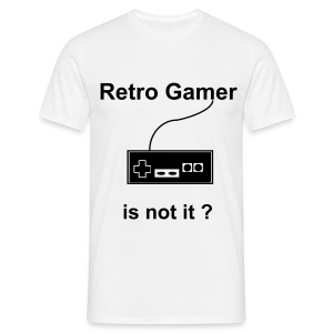 Tee-shirt retro gamer - T-shirt Homme
