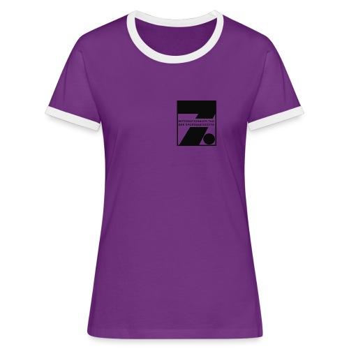 7. itsg mädels - Frauen Kontrast-T-Shirt