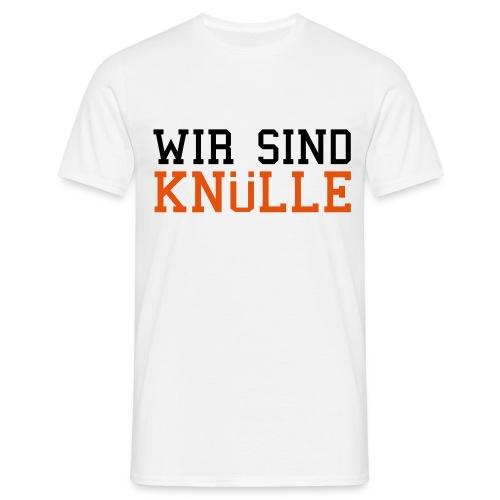 Motto-Shirt Weiß - Männer T-Shirt