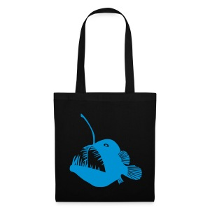 angler fish tote - Tote Bag