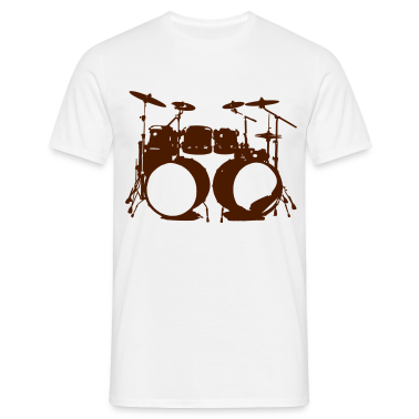 Percussion, trommer, trommeslager, percussionist, musik, instrument, kontrabas, T-shirts