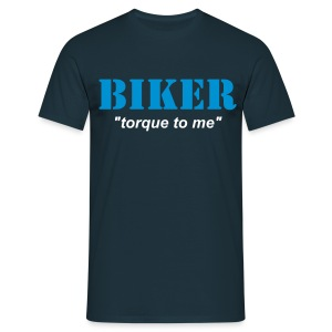 BIKER - torque to me - Men's T-Shirt