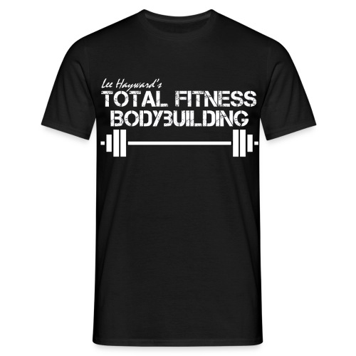 Total Fitness Bodybuilding Barbell Classic-Cut T-shirt - Men's T-Shirt