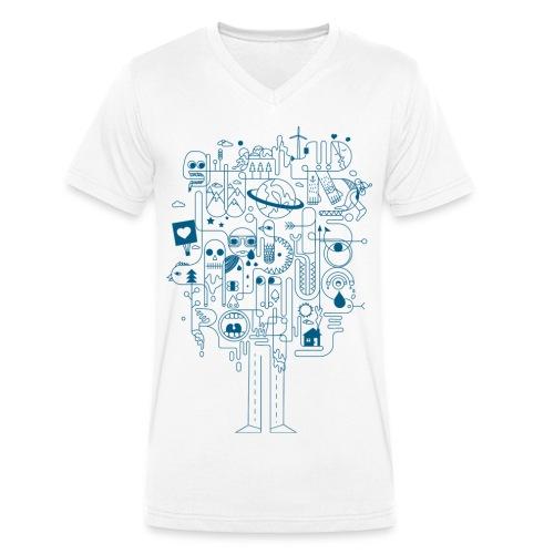 Creative - Männer Bio-T-Shirt mit V-Ausschnitt von Stanley & Stella