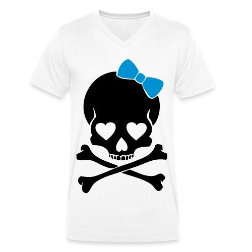 Dead-Head-Men - Männer Bio-T-Shirt mit V-Ausschnitt von Stanley & Stella