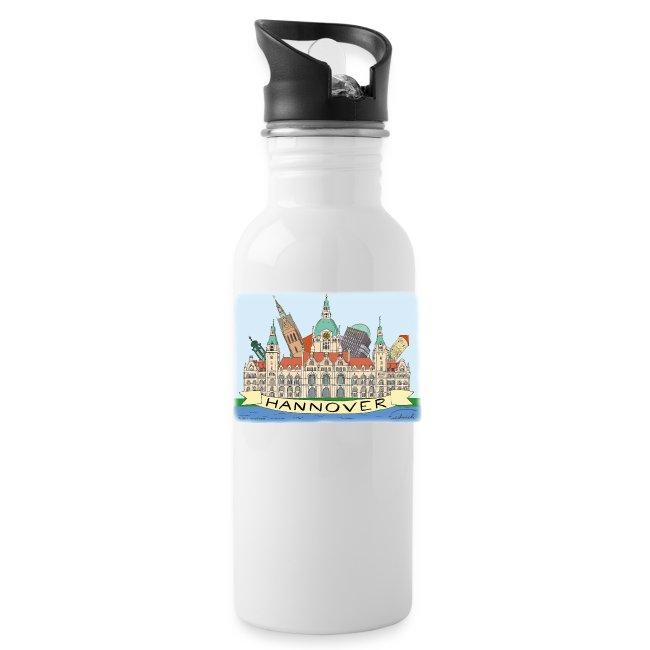 Hannover Souvenir Comic Sommer Trink Flasche