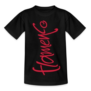 Tee shirt Enfant Flamenco - T-shirt Enfant
