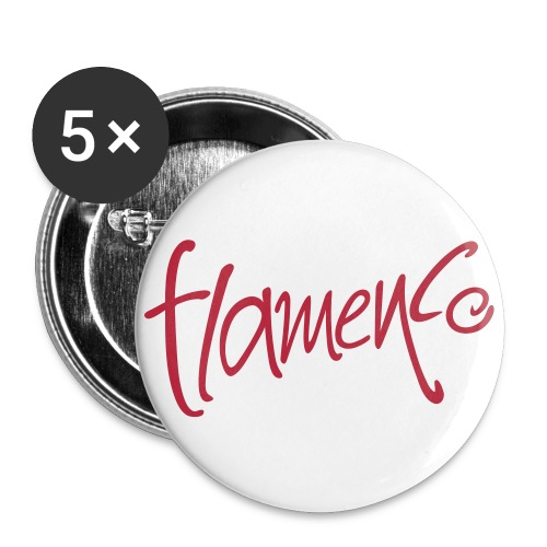 Badges (x5) Flamenco  - Badge grand 56 mm
