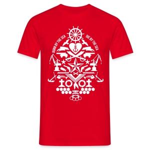 Matrose Born by the sea - Männer T-Shirt