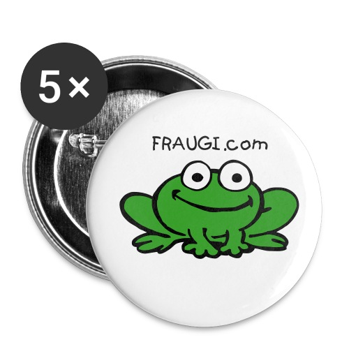 5 badges FRAUGI - Badge petit 25 mm