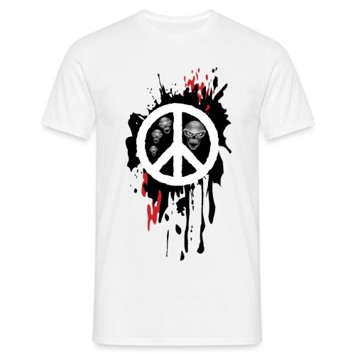'Peace Skulls' - Men's T-Shirt