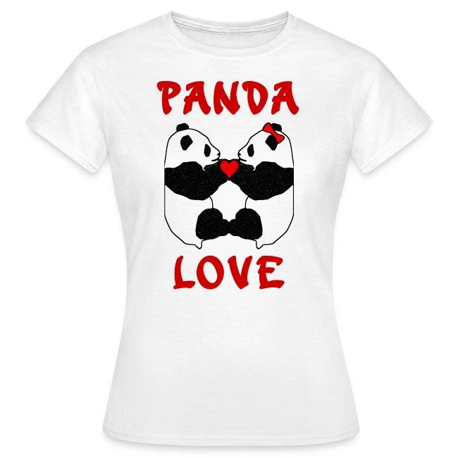 Panda Love Womens Standard
