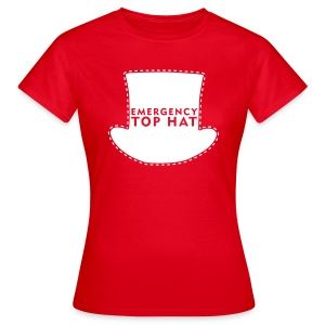 Girl's EMERGENCY TOP HAT - Women's T-Shirt