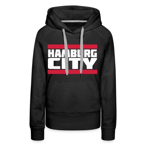 Hamburg city / skyline - Frauen Premium Hoodie