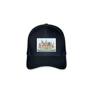 Hannover Souvenir Käppi  #Hannover #Baseball Cap - Flexfit Baseballkappe