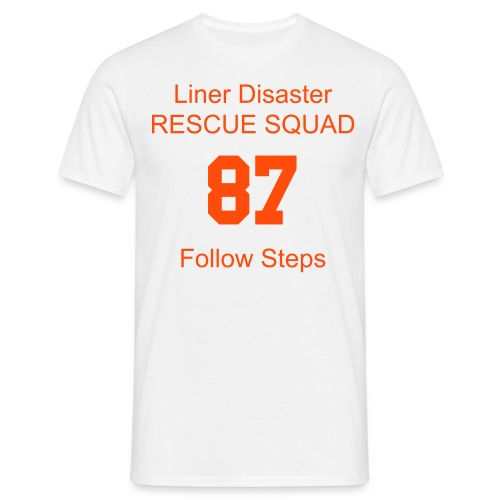 Liner Disaster Rescue Squad - Men's T-Shirt