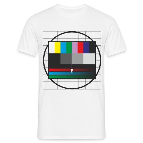 TRANSMISSION TROUBLE SHIRT WHITE - Männer T-Shirt