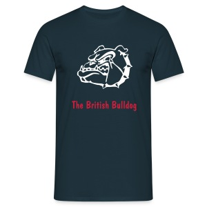 The British Bulldog Davey Boy Smith - T-shirt Homme