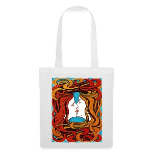 Art Nouveau Couple Tote bag - Tote Bag