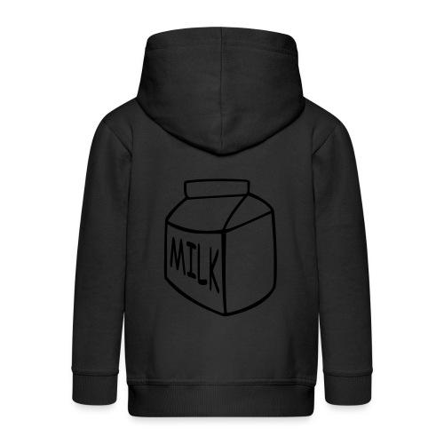 Milk Hoody  - Kinder Premium Kapuzenjacke