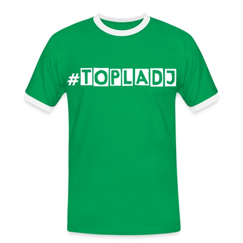 #TopLADj Green Tee - Men's Ringer Shirt