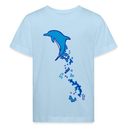 Oceano Kinder Bio Delfinsprung - Kinder Bio-T-Shirt