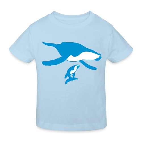 Oceano Kinder Bio Buckelwale - Kinder Bio-T-Shirt