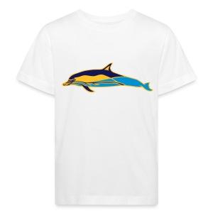 OCEANO Kinder Bio gewöhnlicher Delfin - Kinder Bio-T-Shirt