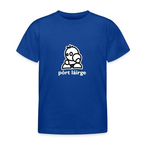 Waterford – Pórt Láirge – Kids GAA T-Shirt - Kids' T-Shirt