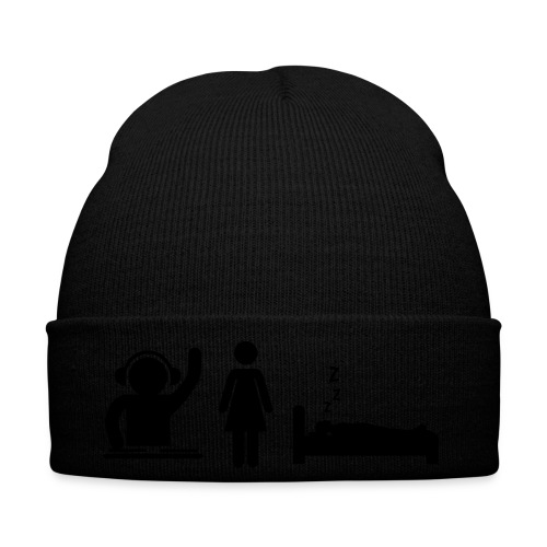 dj women sleep - Winter Hat