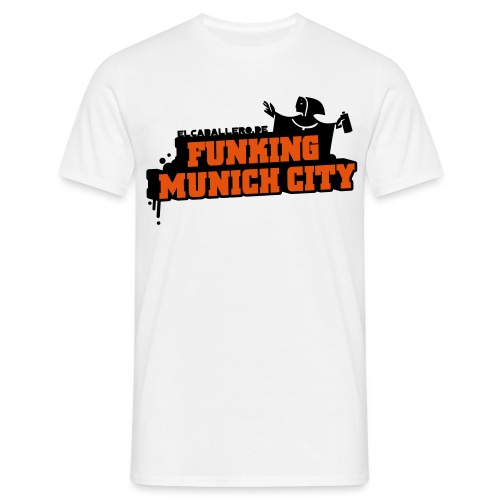 Funking Munich City - Männer T-Shirt