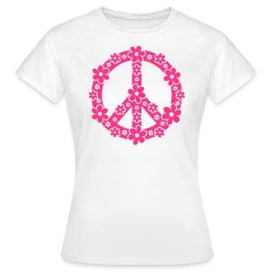 Flower Peace Tee - Women's T-Shirt