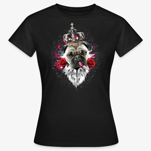 Mops KLEINER Promo-Shirt 03 Doppel-Logo nur hinten - Frauen T-Shirt