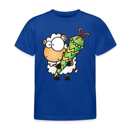 Zuckertüte und Schaf - Kinder T-Shirt