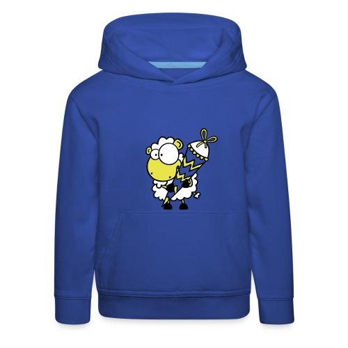 Schaf mit Zuckertüte Pullover - Kinder Premium Hoodie