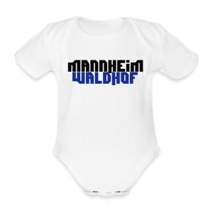 Mannheim Waldhof - Baby Bio-Kurzarm-Body