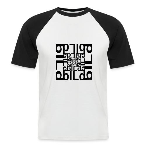 BILD - Männer Baseball-T-Shirt